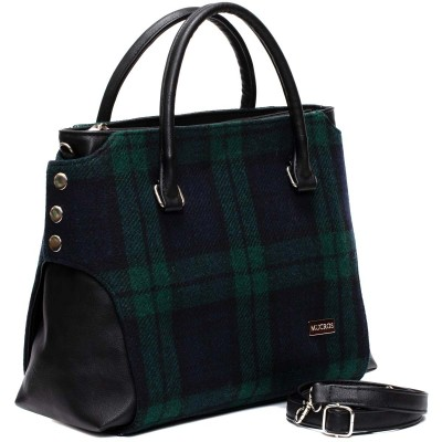 Irish tweed means classic feel and a sturdy design for real-life use.