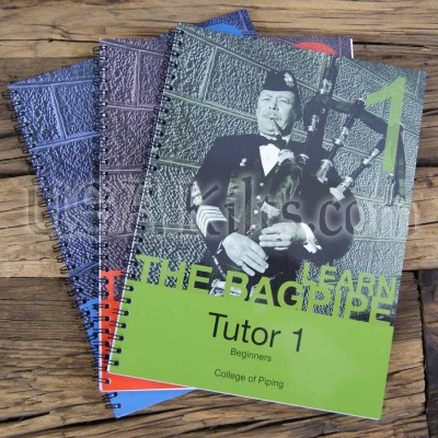 College of Piping Tutor Books