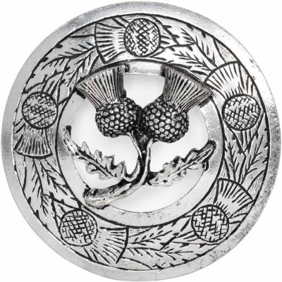 Double Thistle Brooch