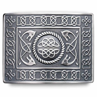 Highland Serpent Kilt Belt Buckle