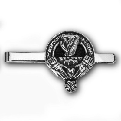 Irish Family Crest Tie Bar
