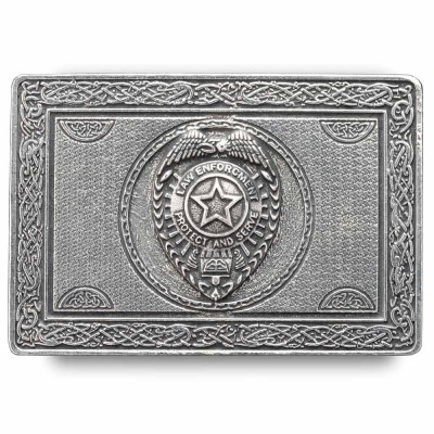 Law Enforcement Kilt Belt Buckle