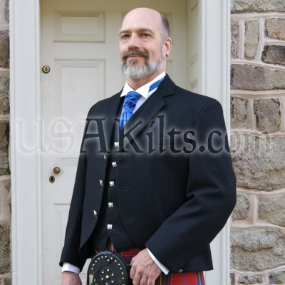 Contemporary Kilt Jacket & Vest