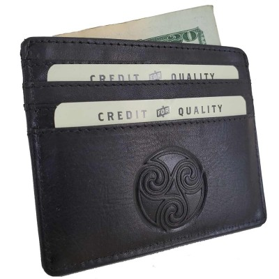 Triskele Card Holder Wallet