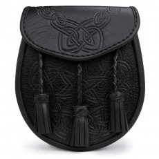 Embossed Leather Day Sporran