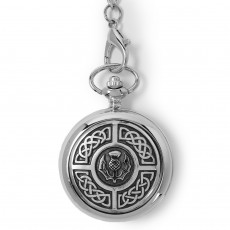 Knotwork and Thistle Pocket Watch