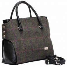 Modern Irish styling, traditional Celtic tweed -- hand-made in Co. Kerry.