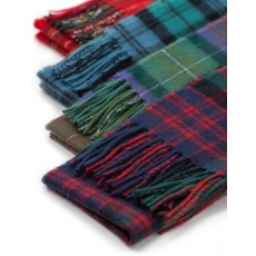 We have your family tartan! Lambs wool Tartan Scarves made in Scotland