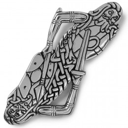 Celtic Warriors Kilt Pin inspired by the Book of Kells