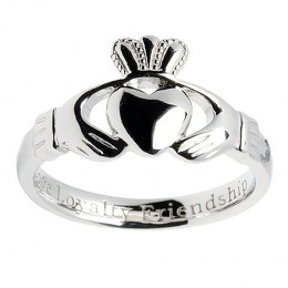 The timeless Claddagh - The hands for friendship, the heart for love, and the crown for loyalty.