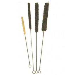 Cloth pipe cleaning brushes