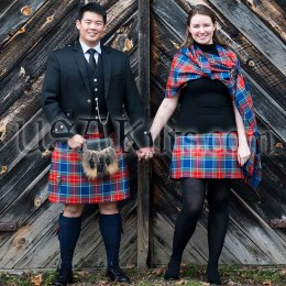 Custom Woven Tartan 8 Yard kilts from USA Kilts