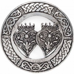 Double Luckenbooth Brooch