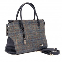 Modern Irish styling, traditional tweed -- hand-made in Co. Kerry