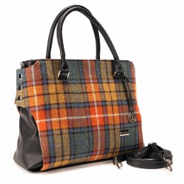 Buchanan Tartan handbag, made in Ireland, adds Celtic flair to any outfit!