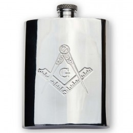 Masonic Hip Flask