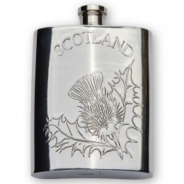 Scottish Thistle Hip Flask
