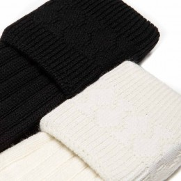 Economy Cream and Black Hose