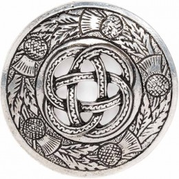 Knot and Thistle Ladies Brooch