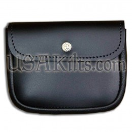 Leather Belt Pouch for phone, tools, CCW,