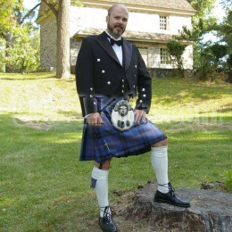 USA Kilts Law Enforcement Tartan kilt front