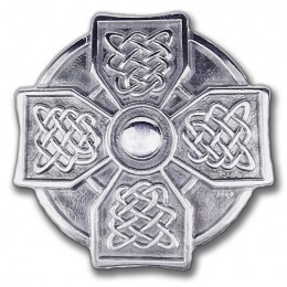 Classic Celtic Cross Jeans Belt Buckle