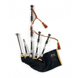 PH06 Sterling Silver Bagpipes