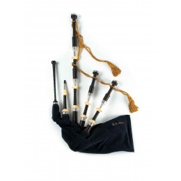 PH05 Sterling Silver Bagpipes