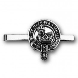 Scottish Clan Crest Tie Bar