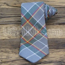 New Mexico State Seal Tartan Tie