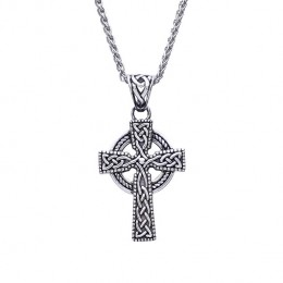 Heirloom quality Stirling Silver Unisex Celtic Cross pendant