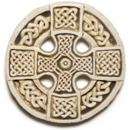 Manx Wheel Cross -- a classic Celtic cross, found in Maughold, Isle of Man.