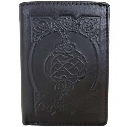 Sean Tri Fold Wallet in Black
